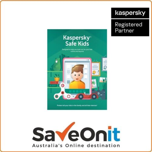 Kaspersky Safe Kids Premium 1 device 1 year License email
