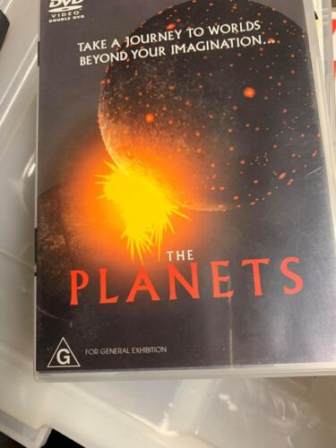 THE PLANETS - O DVD: TAKE A JOURNEY TO WORLDS BEYOND YOUR IMAGINATION  t5
