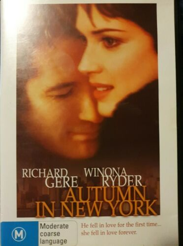 Autumn In New York DVD (PAL) FREE POST