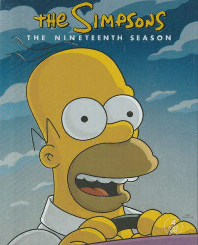 THE SIMPSONS Season 19 New/Unsealed Region 4  I will combine postage if possible