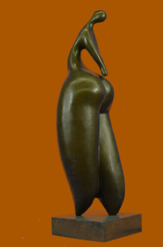 Signed Original a Tribute to Botero Nude Female Bronze Sculpture Statue Artwork