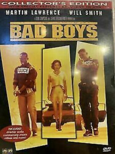 Bad Boys (DVD, 2000, Collectors Edition) Will Smith, Martin Lawrence brand new