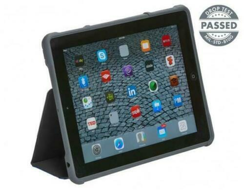 STM Dux Rugged Case for iPad 2 3 4 BLACK Ultra Protective 222-066J-01