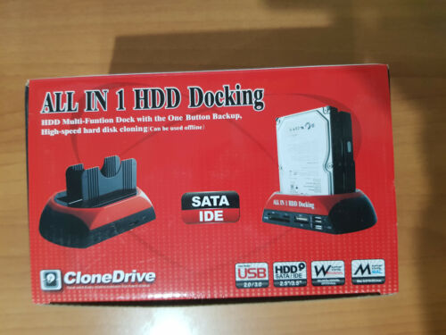 All in 1 HDD Docking IDE SATA