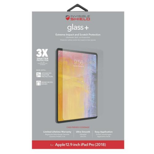 InvisibleShield Glass+ Screen - For iPad Pro 12.9-inch (2018) Clear