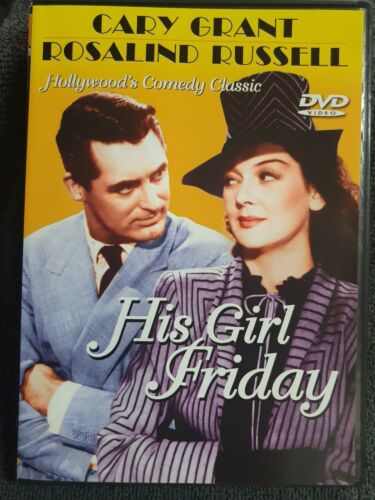 His Girl Friday DVD (PAL, 1940) FREE POST