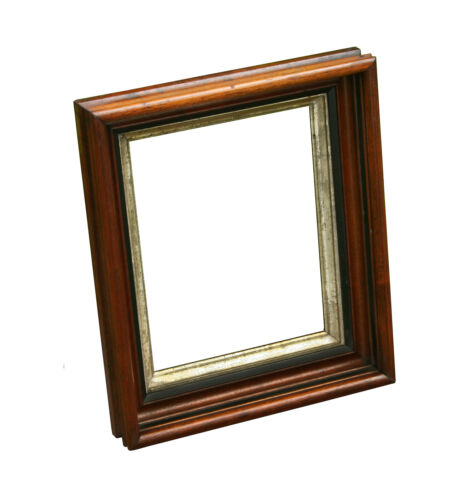 "Antique Victorian Walnut Picture Frame, holds 8"" x 10"" (2)"