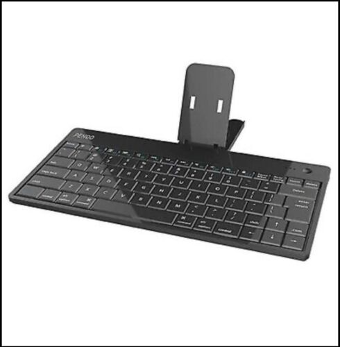 Portable Pendo Bluetooth Wireless Rechargable Keyboard   Mobile Phone Holder