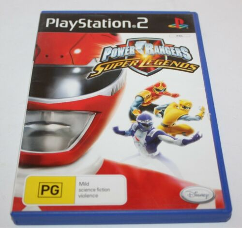 Sony PlayStation 2 Power Rangers Super Legends PS2 Game Aus Release PAL