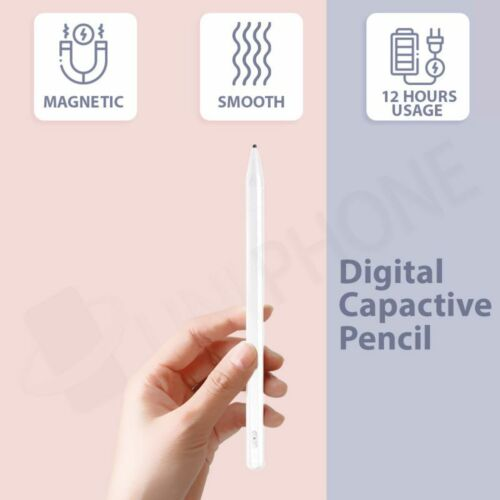 【Magnetic】Digital Capacitive Active Touch Screen Stylus Pen Pencil iPad Tablets