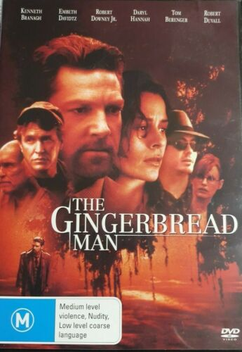 The Gingerbread Man DVD (PAL, 2016) FREE POST