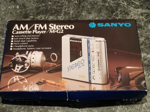 Sanyo MG2 AM/FM Cassette Original Packaging Box And Manual