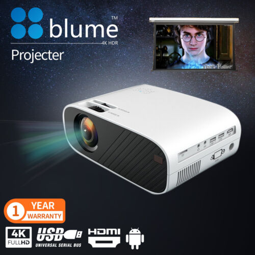 New Portable Pocket Projector HD 1080P LED Home Theater Video Projector HDMI USB <br/> Support resolution to 1080P / Free&Fast Ship / AU Stock