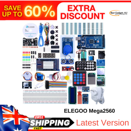 Uno R3 Most Complete Ultimate Starter Kit Mega2560 Project Arduino IDE TUTORIAL