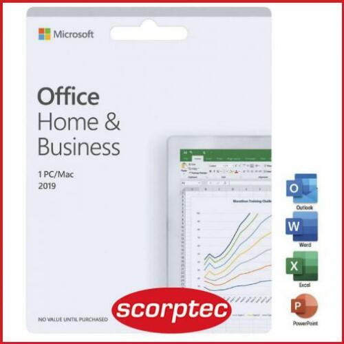 Microsoft T5D-03301 Office Home and Business 2019 Medialess Retail