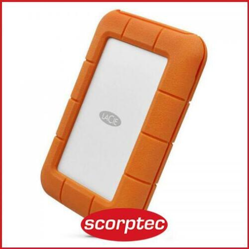 LaCie Rugged Secure Portable HDD 2TB