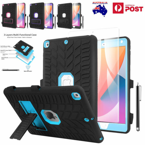 For iPad 8th 2020 /7th Gen 10.2 inch 2019 Heavy Duty Case Shockproof Stand Cover