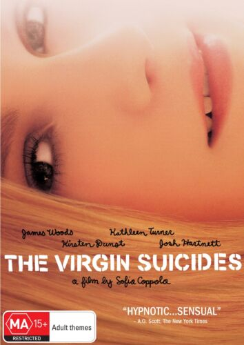 The Virgin Suicides DVD Region 4 NEW