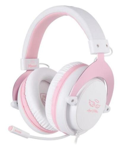 SADES PINK MPOWER PS4 Xbox One Nintendo Switch Gaming Headset Chat Mic Girls