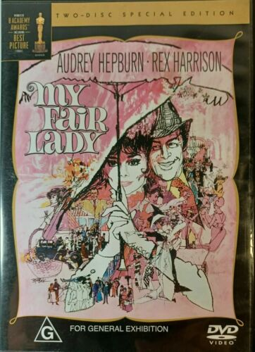 My Fair Lady (DVD, 2004, 2-Disc Set, PAL) BRAND NEW AND SEALED,  FREE POST