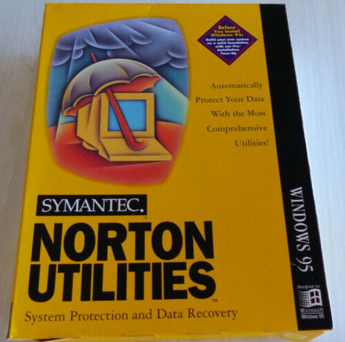 SYMANTEC NORTON UTILITIES FOR WINDOWS 95