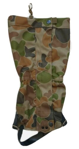 TACTICAL FORCE GAITERS AUSCAM DPCU HD FOOT STRAPS 3/4  LENGTH ARMY BUSHWALKModern, Current - 36066