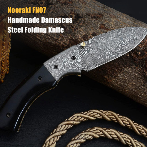 Damascus Hand Forged Fix Blade Hunting/Bushcraft Dagger Knife 13 InchesKnives - 42574
