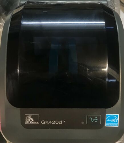Zebra GK420d Barcode Shipping Label Thermal Printer USB / Network  With Warranty