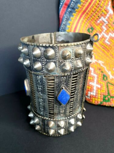 Old Tibetan Tribal Silver Bracelet …beautiful collection and accent piece