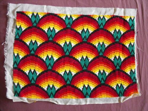 Beautiful Vintage Bargelo Embroidery Tapestry 54cm/40cm(21''x 16'') #1962