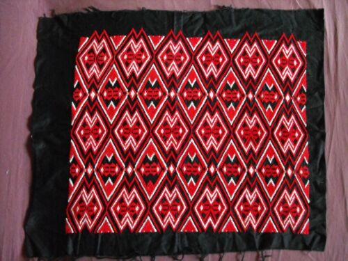Beautiful Vintage Hand Embroidered Tapestry 65cm/55cm(25.5''x 21.5'')  #1966