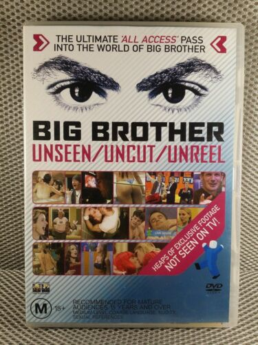 "Big Brother Australia DVD "" Unseen / Uncut / Unreel "" 2003 - RARE TV SERIES"