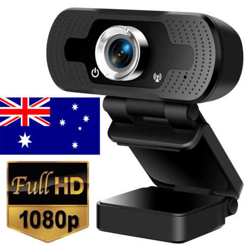 Webcam Auto Focus Genuine HD 1080P Web Camera Cam With Microphone For PC Laptop
