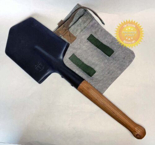 Infantry Army Sapper Shovel + Case Soveit USSR Military MPL-50 SmallOriginal Period Items - 13983