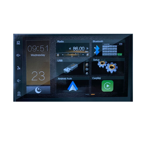 Mongoose Q7CA 7 Inch Multimedia unit with Android Auto and Apple Carplaylay