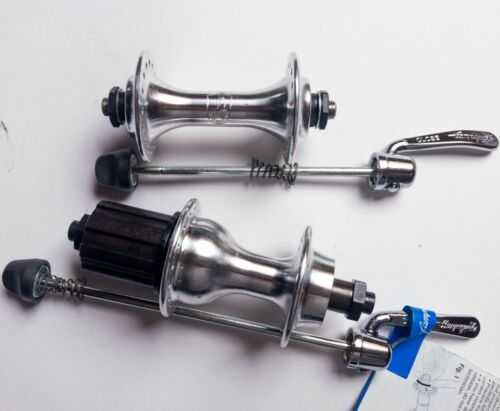 SET KIT MOZZI CAMPAGNOLO VELOCE MIRAGE hubs 8 speed  32h w QUICK RELEASE NOS NEW