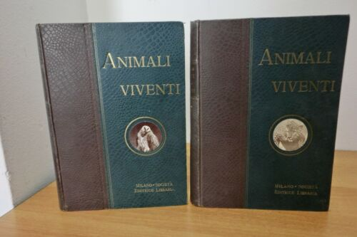 """Animali viventi, storia naturale"" 2 volumi di C.J. Cornish"