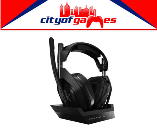 ASTRO A50 4th Generation Wireless Gaming Headset 7.1 Black PS4 with Base Station