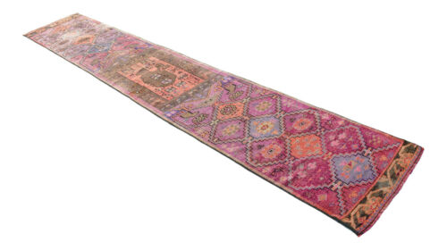 """2x13 Runner Rug Caucasian Runner Rug Hand Knotted Low Pile Runner actual 26x164"""""""