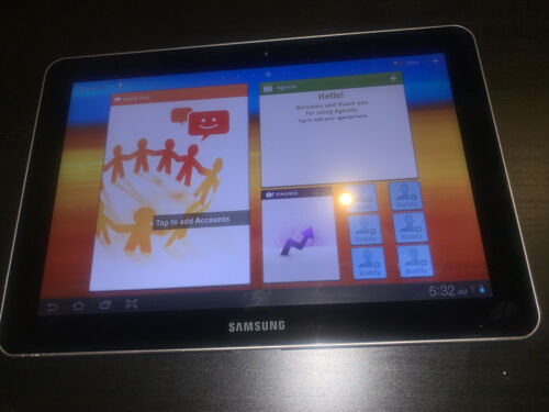"SAMSUNG (GT-P7510) GALAXY TAB 10.1"" 64GB IN Black / WIFI ONLY - AU STOCK !"