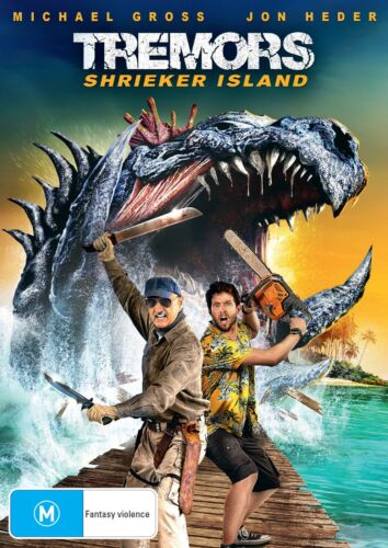 Tremors Shrieker Island DVD Region 4 NEW <br/> *** PRE-ORDER *** EXPECTED DELIVERY DATE 16/12/2020