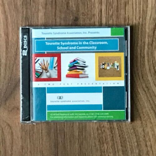 Tourette Syndrome In The Classroom and Community DVD ROM 2-Disc Set WIN/MAC, New