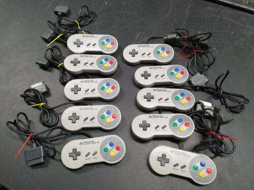 Super Nintendo / Famicon genuine controllers. Tested 100% working 10 available