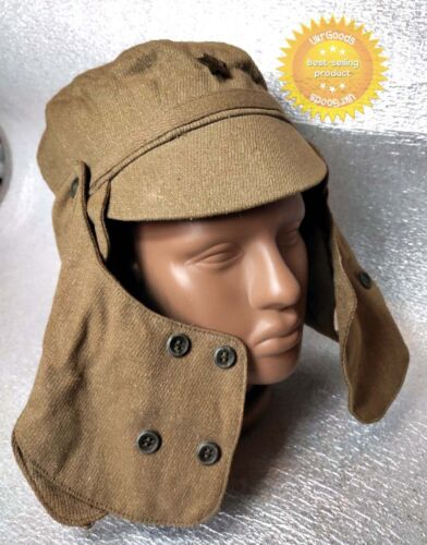 Cap Afganka Authentic Dated Soviet USSR Army Military Desert Hat size 58 New