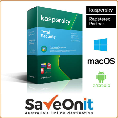 Kaspersky Official Total Security 2020 1 Device PC 1 Year Email license