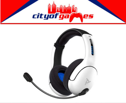 PDP LVL50 Wireless Stereo Headset White for Playstation 4