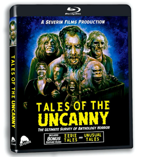 TALES OF THE UNCANNY Blu-ray *2-Disc ULTIMATE Anthology HORROR Doc+ BONUS Films! <br/> *CREEPSHOW, Twilight Zone, TALES FROM THE CRYPT + More!