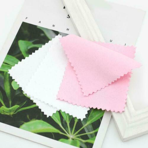 10x Jewelry Polishing Cloth Cleaning For Platinum Silver Sterling Gold And E5i9