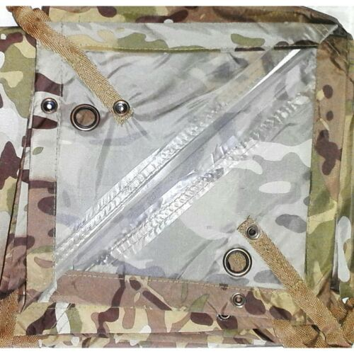 HOOTCHIE MULTICAM 278X186CM 560 GRAMS TAPED SEAMS HOOCHIE ARMY, CADET, BASHACanopies & Shelters - 179011