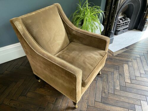 Stylish contemporary armchair. Made by Wills Furniture. Designer quality
